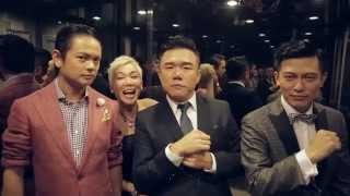 Elevator Invasion at Star Awards 2015 (w/ Rui En, Zoe Tay, Felicia Chin and many more!)