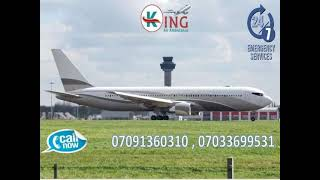 Hire Classy ICU Facility Air Ambulance Service in Delhi by King