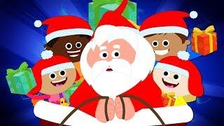 Jingle Bells Christmas Carol | Christmas Songs For Children | Xmas Rhyme By Baby Box