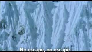Falling Up - Contact with video Touching the void an d lyrics