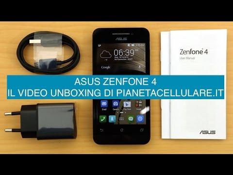 Hands On Asus Zenfone 4, video unboxing Italiano
