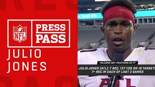 """Julio Jones On if He is the Best Receiver in the League """"I Definitely Think I Am"""" 