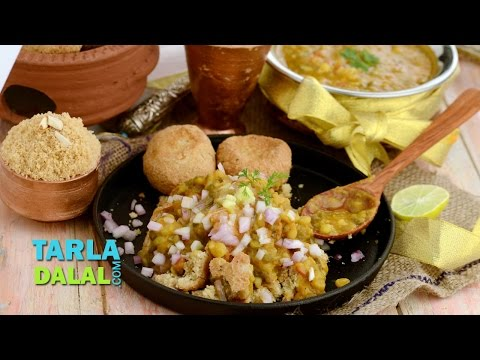 Dal Baati Churma/ How to make Traditional Rajasthani Recipe by Tarla Dalal