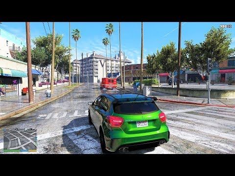 GTA V is awesome with ray tracing applied via mod - Nerd4 life