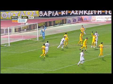 Βίντεο αγώνα: Δόξα 0-2 ΑΠΟΕΛ