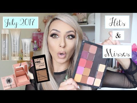 JULY 2017, HITS and MISSES! Makeup and hair care | DramaticMAC
