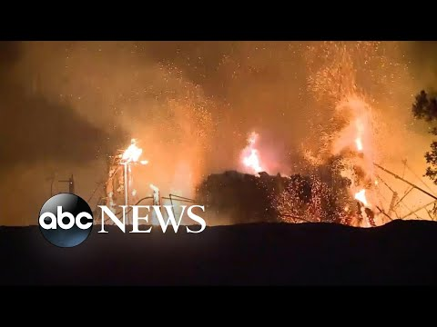 More evacuations in Northern California as wildfires kill 40