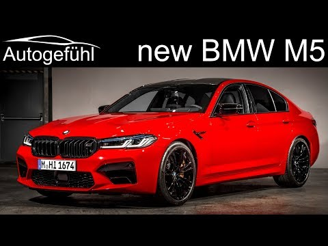 External Review Video G_9gGvkzNVM for BMW M5 & M5 Competition Sedan (F90, 2020 facelift)