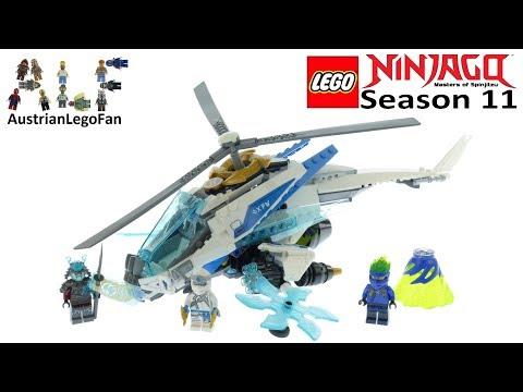 Vidéo LEGO Ninjago 70673 : Le ShuriCopter