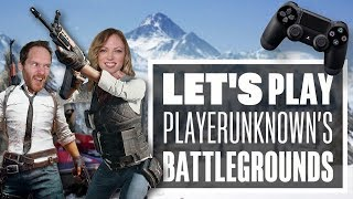 Let's Play PUBG PS4 Gameplay with Aoife and Ian - NEW YEAR, NEW FEAR!