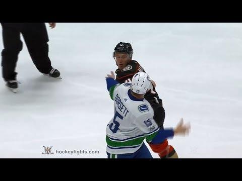 Josh Manson vs. Derek Dorsett