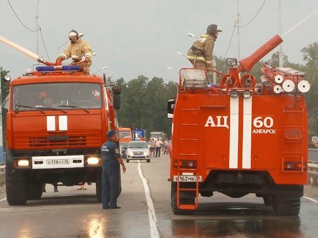 Экспонаты от пожарных