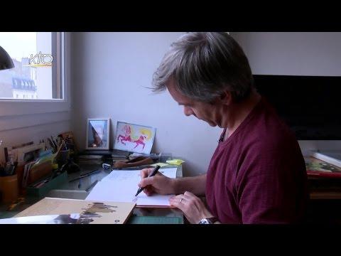 Denoël, dessinateur de BD