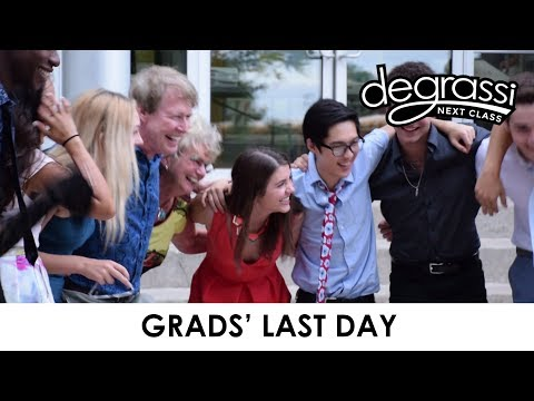 On Set: Grads' Last Day - Degrassi: Next Class