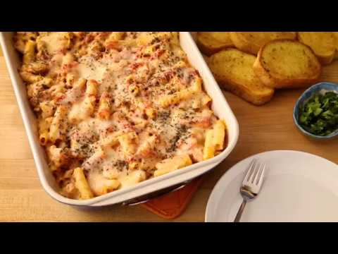 Video Pasta Recipes - How to Make Baked Ziti with Sausage
