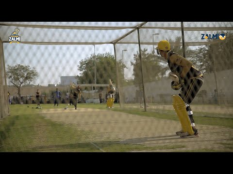 Peshawar Zalmi | Day 1, Karachi | 1st Training Session
