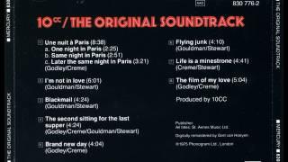 10CC - ORIGINAL SOUNDTRACK