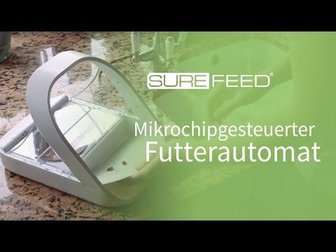 Reinigung Ihres SureFeed Mikrochip Futterautomaten