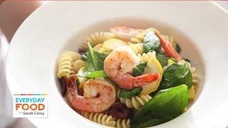 Summer Pasta Salad with Shrimp – Everyday Food with Sarah Carey