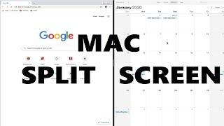 How to Split Screen on MacBook!