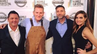 """Rory Feek Director of """"Josephine"""" and Aaron Carnahan on the Red Carpet"""