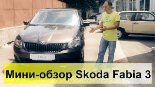 Skoda Fabia 3 1.0 2015. Обзор, тест-драйв