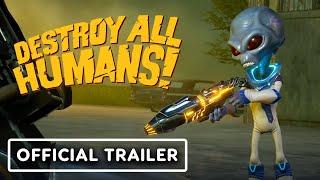 Destroy All Humans! - Official Disintegrator Ray Trailer