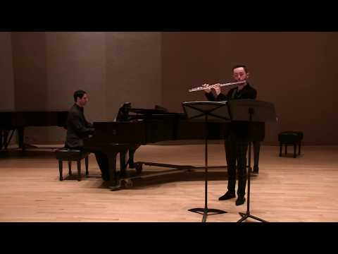 A bit of the Sonatine by Henri Dutilleux from my 2nd of 3 Master's recitals.