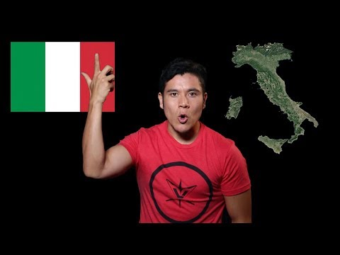 Itálie - Geography Now!