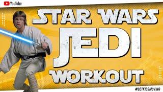 STAR WARS 'TATOOINE JEDI' Kids Workout
