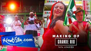 Grande Rio – Tata Londirá – Making Of – Carnaval 2020