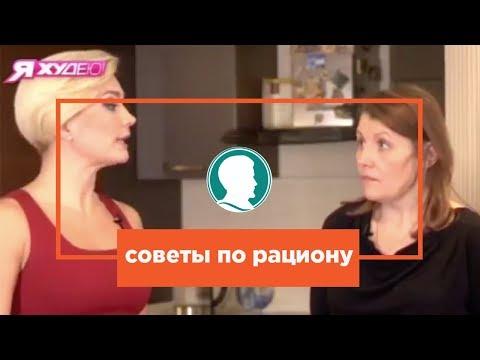 "Cоветы по рациону для снижения веса с проекта   ""Я худею на НТВ"""