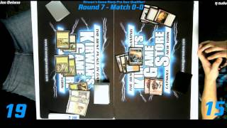 preview picture of video 'MTG Magic PTQ Standard Catskill, NY Round 7 Game 1 122014'