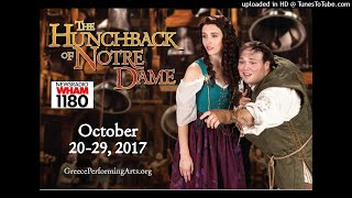 GPAS The Hunchback of Notre Dame - WHAM 1180 Interview