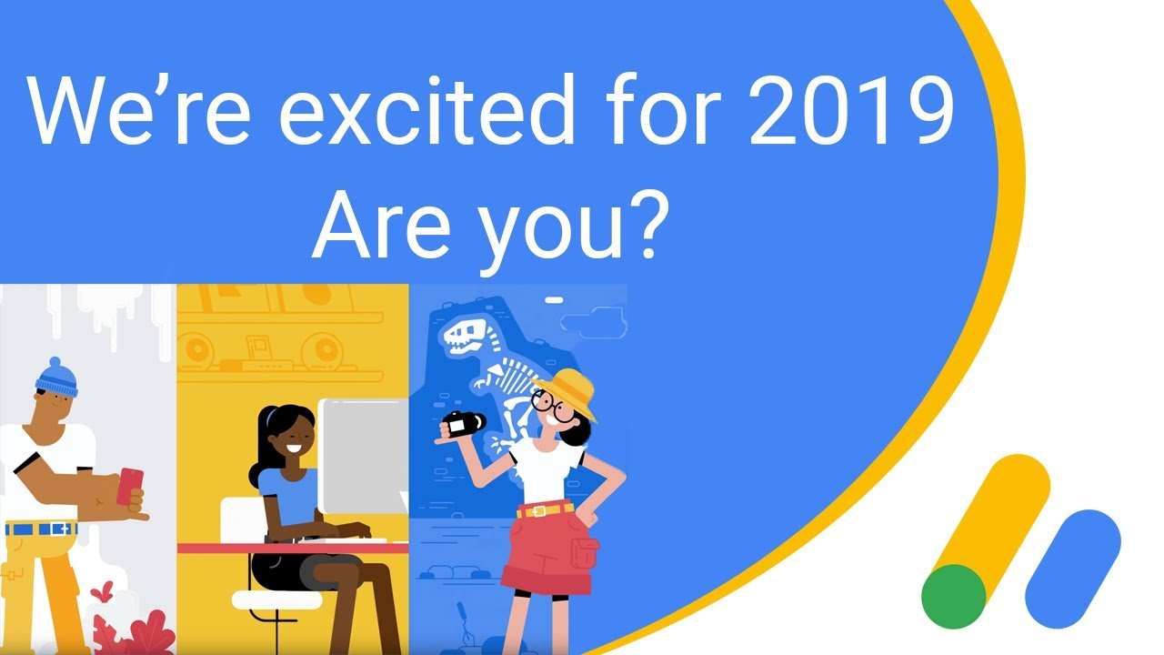 We're excited about 2019, are you?