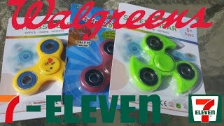 7-Eleven and Walgreens Fidget Spinner Giveaway Winners