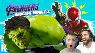 Avengers: ENDGAME in WWE 2k19 #2 (Royal Rumble Match) K-City Gaming
