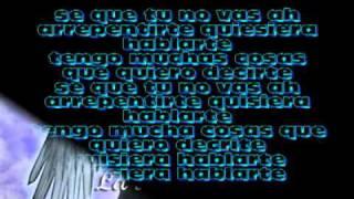Arcangel y Don Omar - quisiera hablarte(letra)