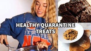 HEALTHY QUARANTINE TREATS // HEALTHY & EASY DESSERTS
