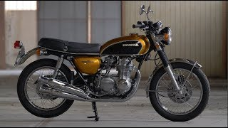 Honda CB 500 Four – Restauration vom Feinsten