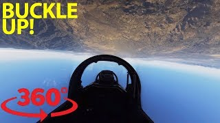 Take control of a fighter jet over Southern California in VR