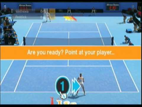 virtua tennis 2009 wii test