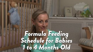 Formula Feeding Schedule for Babies 1 to 4 Months Old | CloudMom