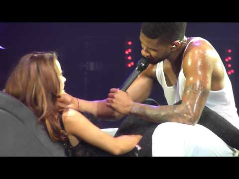 Usher - Trading Places -  live Manchester 26 jan 2011 - HD
