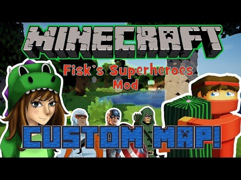 Mini-game map for Fiskfille's Superheroes mod Minecraft Project