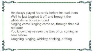 Brandon Rhyder - Old Red Door Lyrics