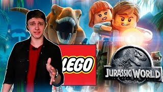 СПИЛБЕРГ НЕГОДУЕТ! - LEGO Jurassic World