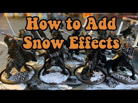 Adding Snow Effects to ASOIFTMG