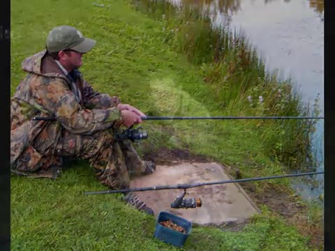 Carp Fishing at the Half Round Pond Swansea.