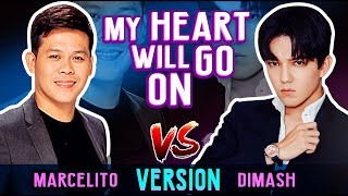 Dimash and Marcelito Pomoy Incredible Rendition of My Heart Will Go On | Amazing Performance!